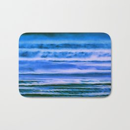 blueness Bath Mat