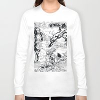 comics Long Sleeve T-shirts featuring Comics by Burg