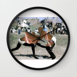Fight 1 Wall Clock