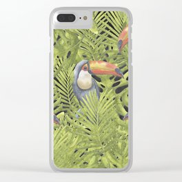Toucan II Clear iPhone Case