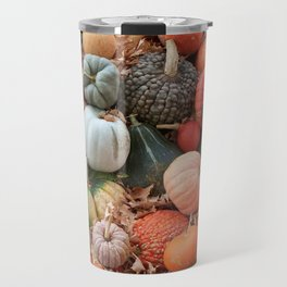 cornucopia (heirloom pumpkins and squashes) Travel Mug