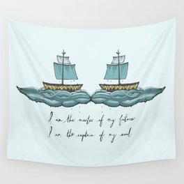 Captain of My Soul Wall Tapestry