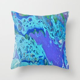 Colors By The Sea Throw Pillow