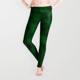 Emerald Stars Leggings