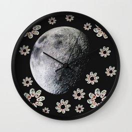 Dark Side of the Sushi Wall Clock