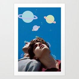 Otherworldly Love Art Print