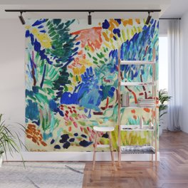 Henri Matisse Landscape at Collioure Wall Mural
