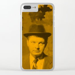 Benny Hill Clear iPhone Case