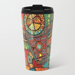Shaman Dance: Day and Night Travel Mug
