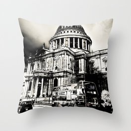 St Paul's Cathedral London Throw Pillow