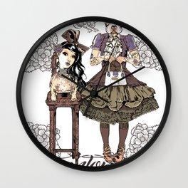 Kawaii and dog Tonton AL Wall Clock