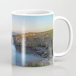 Mendocino Rocky Cove Symmetry Coffee Mug