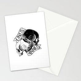 unus annus Stationery Cards