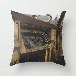 Dozer 3 Throw Pillow