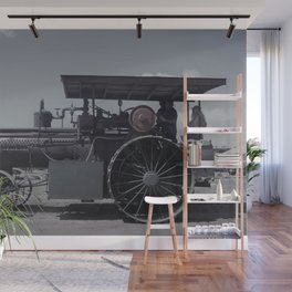 Antique Tractor Wall Mural