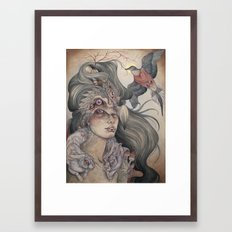 The Dodo's Widow art print Framed Art Print