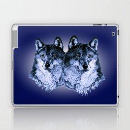 Season of the Wolf - Duet in Sapphire Laptop & iPad Skin