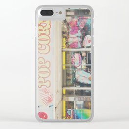 Cotton Candy & carnival food ... Clear iPhone Case