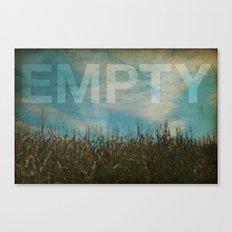 EMPTY Canvas Print