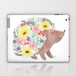 Flowering Hedgehog Laptop & iPad Skin