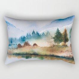 Winter scenery #16 Rectangular Pillow