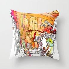 Frangelica Throw Pillow