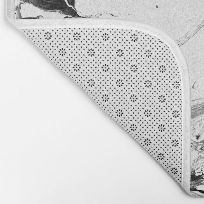// MARBLED WHITE // Bath Mat
