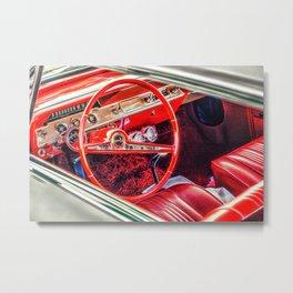 """""""Red Interior"""" Metal Print"""