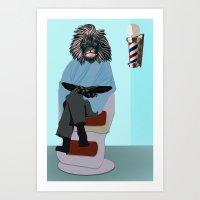 Barbary Mane Art Print