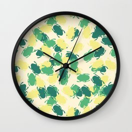 Beetles Design Wall Clock