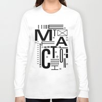 metal Long Sleeve T-shirts featuring METAL FICTION by cmyka