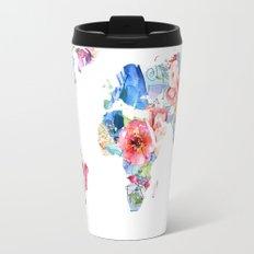 Optimistic World Travel Mug