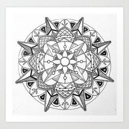 Flower Elegance Art Print