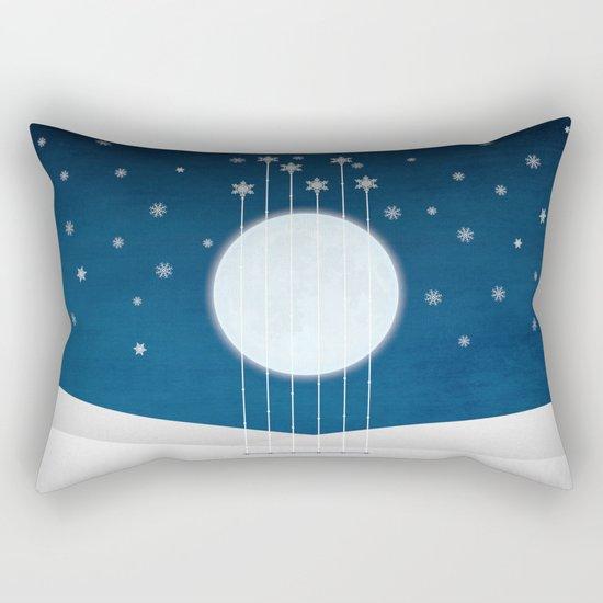 snow night Rectangular Pillow