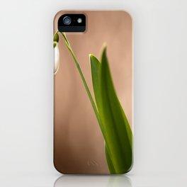 Spring Flower Snowdrop #decor #society6 iPhone Case
