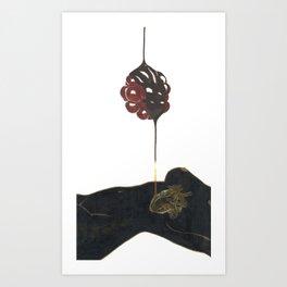 Dripping Chocolate Art Print