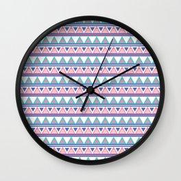 Tribal Pattern Wall Clock