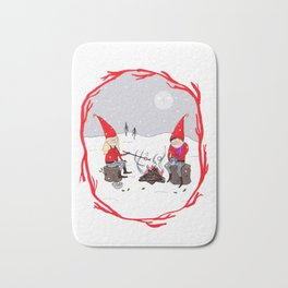 Snow and Stories Bath Mat