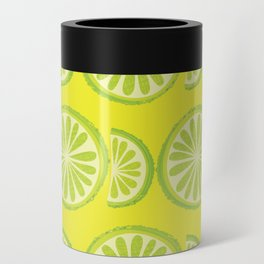 Lime Pattern Can Cooler