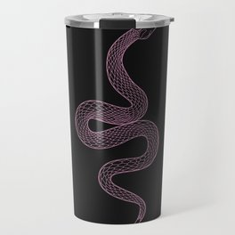 Tell Me - Snake Illustration Travel Mug