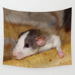 Cute Rat Wall Tapestry