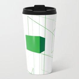 Blueprint #1 (green) Travel Mug