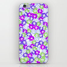 Morning Glory - Violet Multi iPhone & iPod Skin