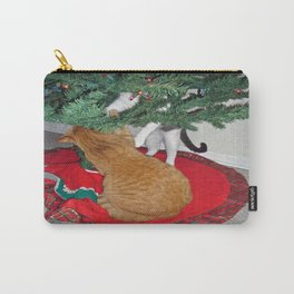 12 cats a-climbing Carry-All Pouch