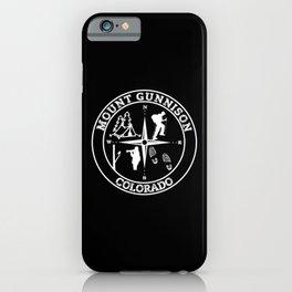 MOUNT GUNNISON iPhone Case