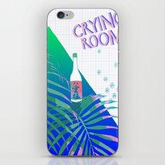 crying room iPhone & iPod Skin