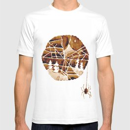 the mountain and the spider T-shirt