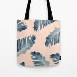 Tropical Banana Leaves Dream #7 #foliage #decor #art #society6 Tote Bag