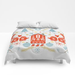 Laplander Winter Holiday Comforters