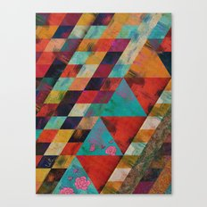 Geometric Reason Canvas Print